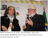 Lula no FISL-10