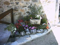 jardinera con bonsai