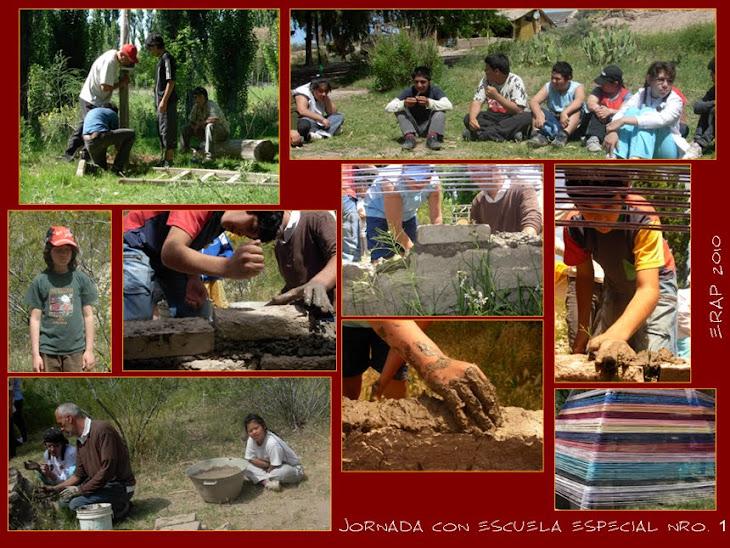 Compartimos una jornada de barro, plantas y rio con la Escuela Especial 1