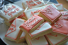 Monogrammed cookies - Social Graces