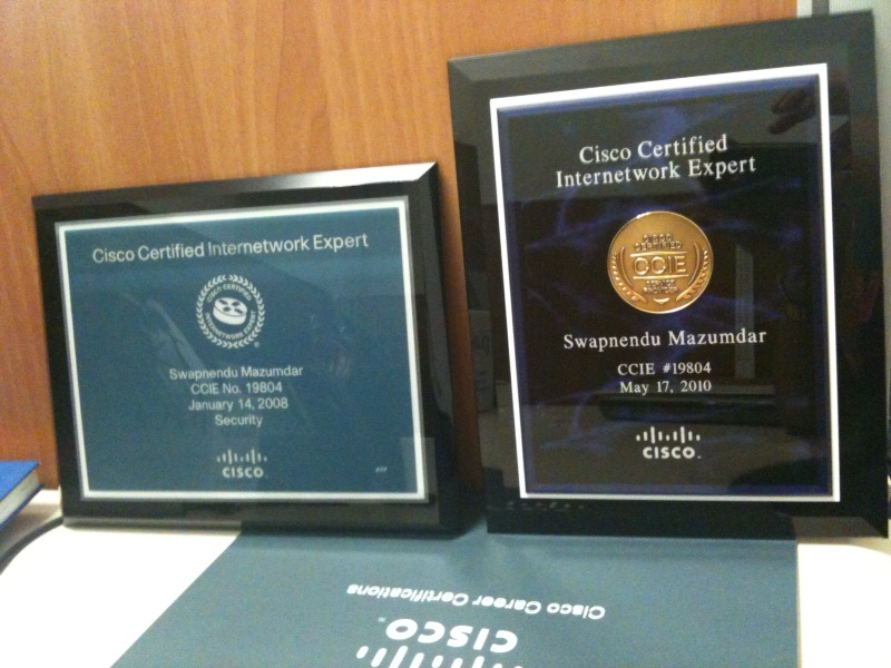 The Ccie Plaques A Blog For Ccie Sp And Security