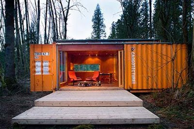 Home Design: Container homes HyBrid Seattle