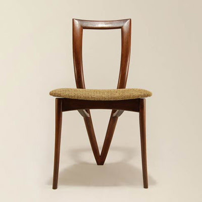 New Furniture : Unique Handmade Chair by Reed Hansuld