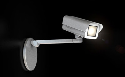 Camuflage Lamp Security Camera