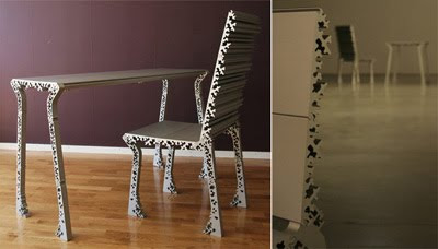 Furniture Design Frozen in Details