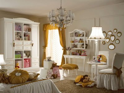 Girls Bedroom Design Ideas in Luxury