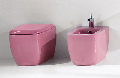 Bathroom Simplicity and Style : 'Lilac' Bathroom Sets Design