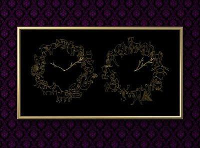 East Meets West Zodiac Clock