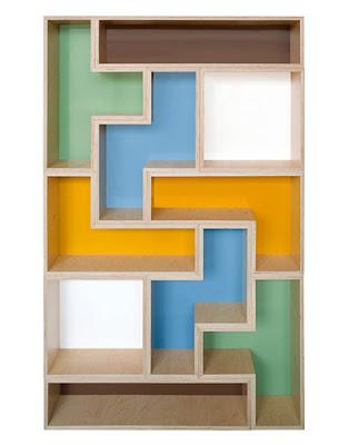 Modular Tetris Shelves