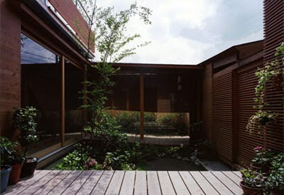Japan House Design in Wakaura