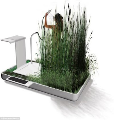 Amazing Water Recycling System in Your Own Shower