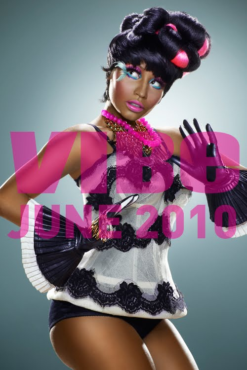 nicki minaj vibe photoshoot. Nicki Minaj Vibe Magazine