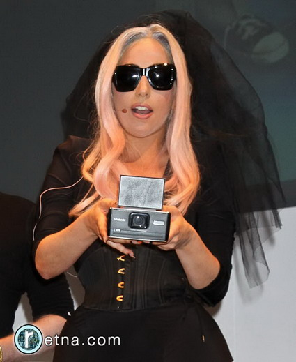 Lady Gaga Sunglasses That Take Pictures. The line includes sunglasses