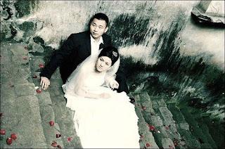 Casamento no momento do terremoto