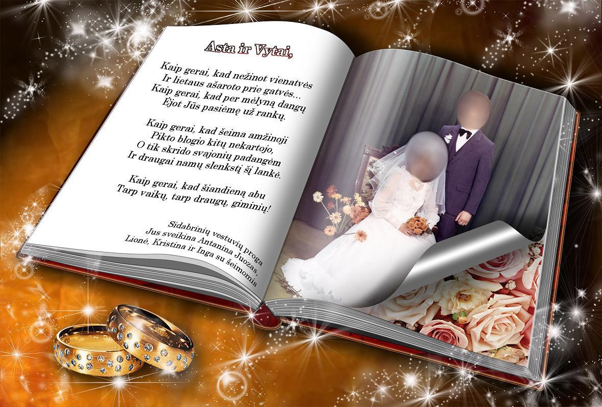 Sidabriniu vestuviu sveikinimai