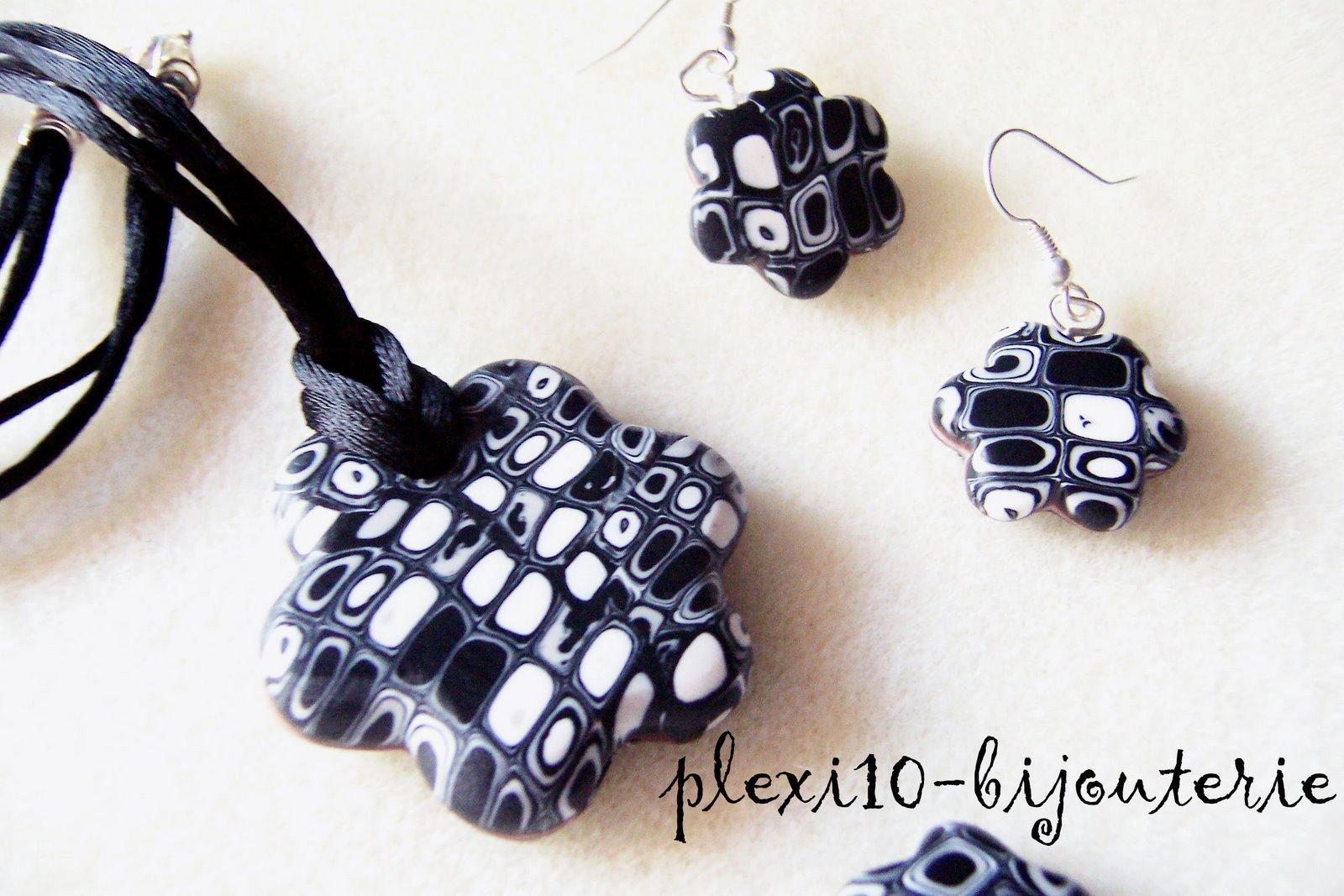 [Colgante+y+pendientes+flor+retro+negro.jpg]