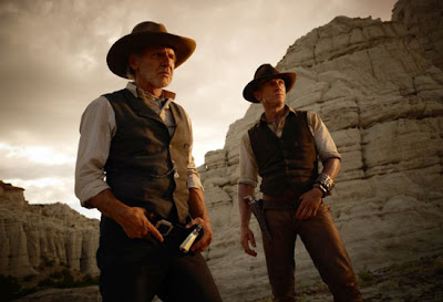 Cowboys & Aliens - Harrison Ford e Daniel Craig
