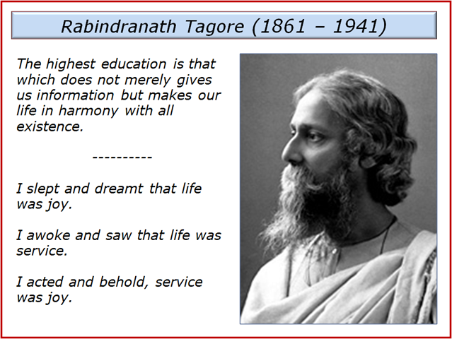 my favourite poet rabindranath tagore Review by kathleen m o'connell: red oleanders (raktakarabi) is one of the more than sixty plays, dance dramas and dramatic sketches by asia¶s first nobel laureate rabindranath tagore.