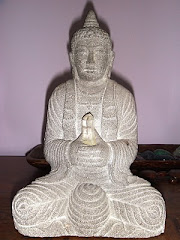 My Buddha with Quartz Crystal