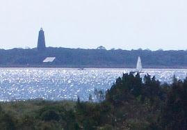 Baldhead Island across from Oak Island