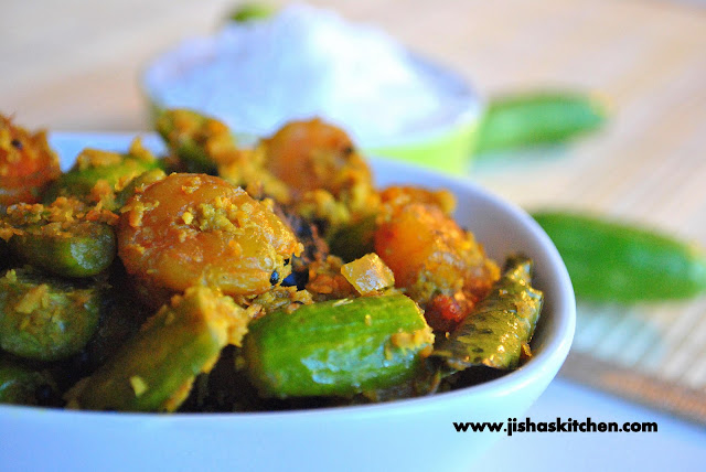 Kitchen !: Kovakka Chemmeen Thoran / Ivy Gourd - Prawn Stir Fry ...