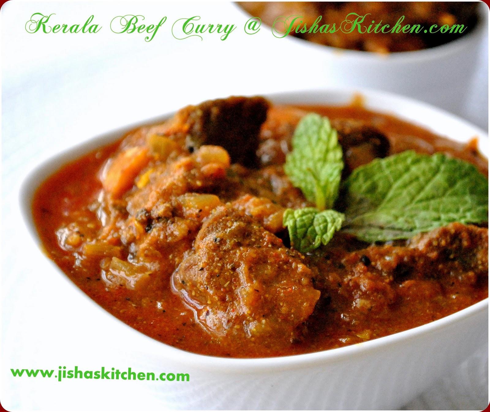 ! Jisha's Kitchen !: Kerala Spicy Beef Curry