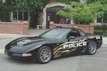Carro da Polícia Americana