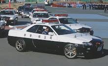 Carro polícia Japão