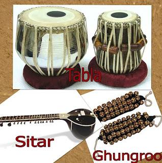 Kathak Instruments