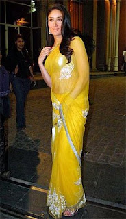 Kareena Kapoor in Saree Photos