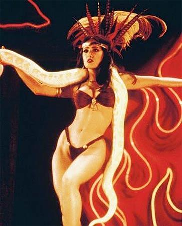 Hollywood Actress Salma Hayek in Bikini