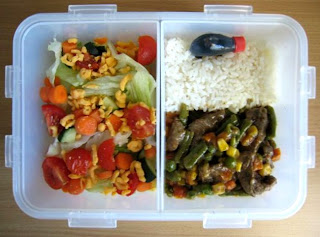 Stir Fry Bento Lock and Lock