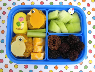 Chickpea Nugget Paperchase Alien Bento Box