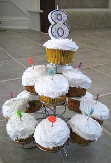 Perler Bead Birthday Cupcakes