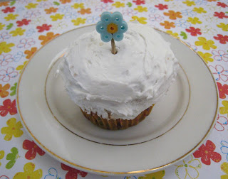 Perler Bead Cupcake Pick Bento