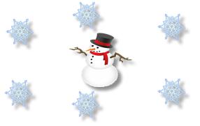 Letak kesan salji dalam blog (Snow effect)