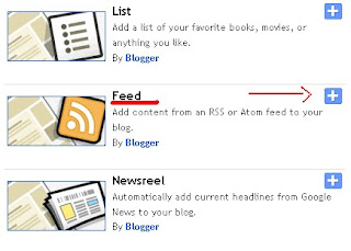 Feed recent comments widget