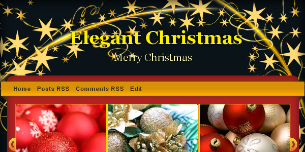 Best Christmas Blogger Templates