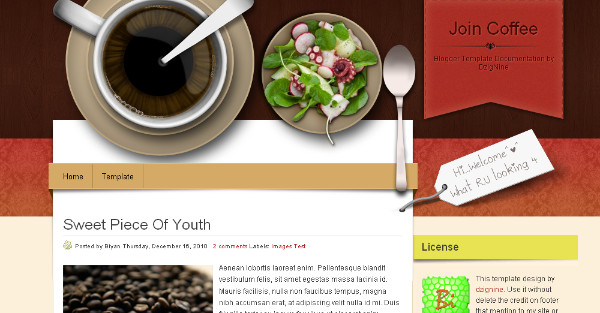 Best Coffee Blogger Templates