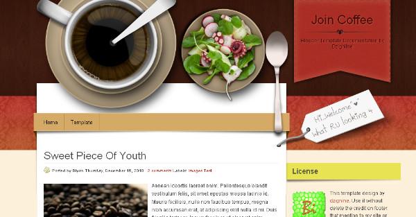 Best Coffee Blogger Templates
