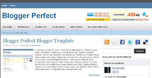 Best Magazine Blogger Templates