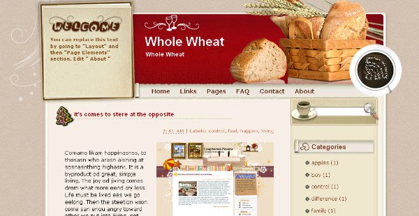 Best Baking Blogger Templates