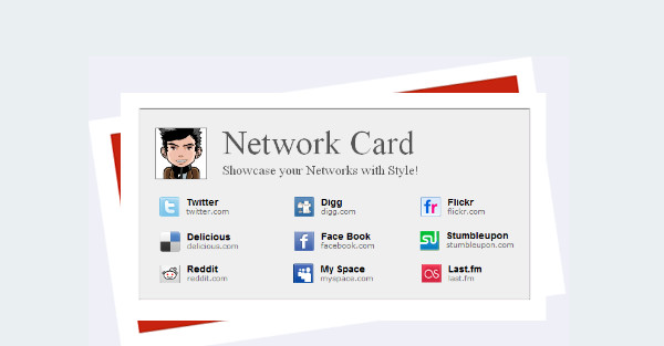 Network card social profile blogger template cool blog templates best specialist blogger templates maxwellsz