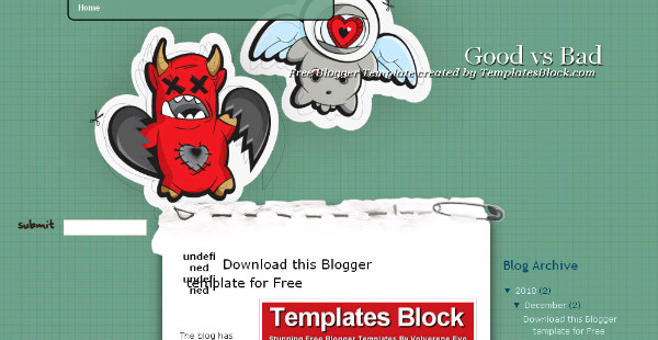 Best Odd Blogger Templates