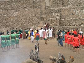 """HUACA """"EL PARAÍSO"""" 2500 A.C. APROX."""