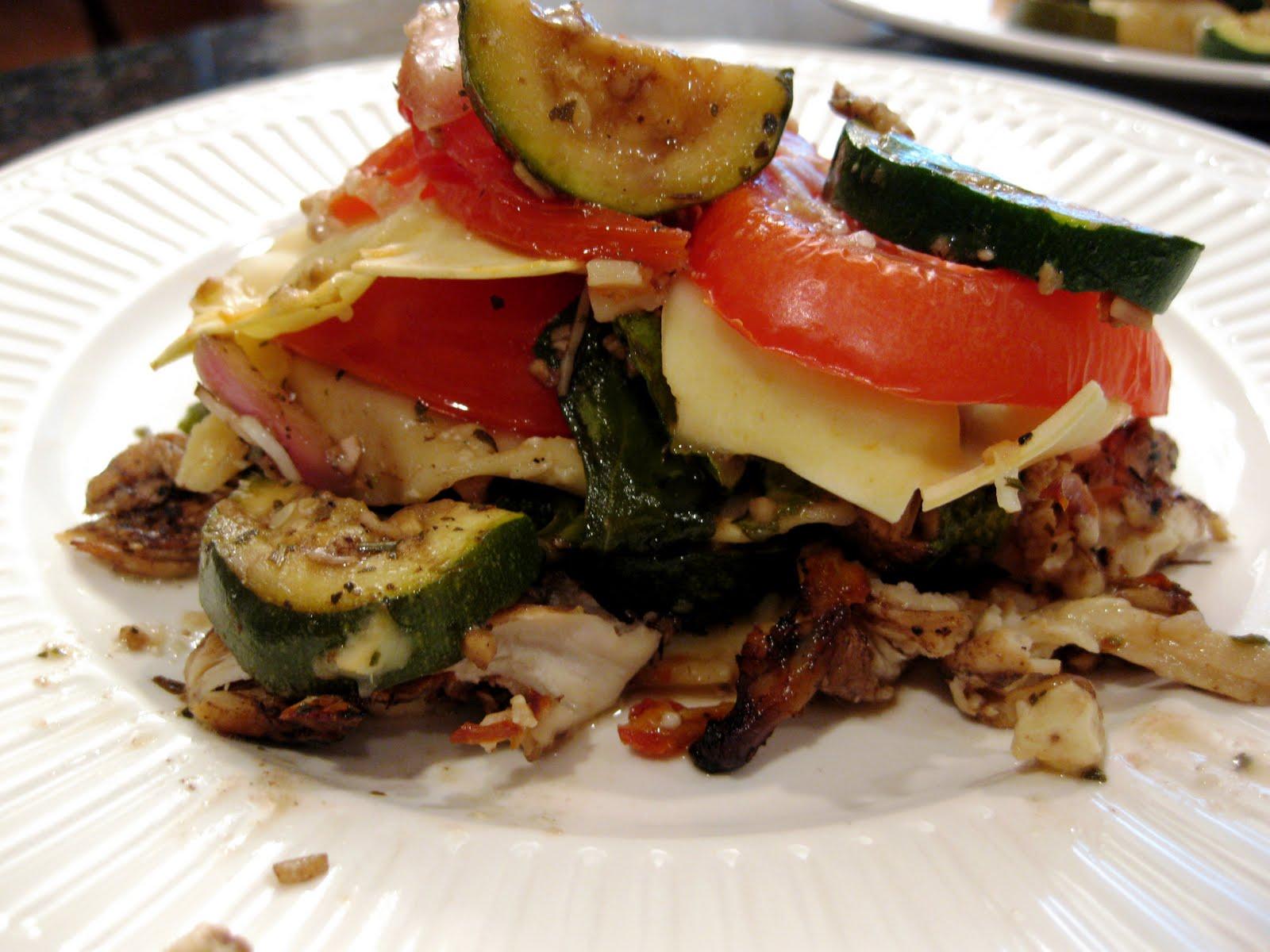Christine\'s Kitchen Chronicles: Sauceless Garden Lasagna