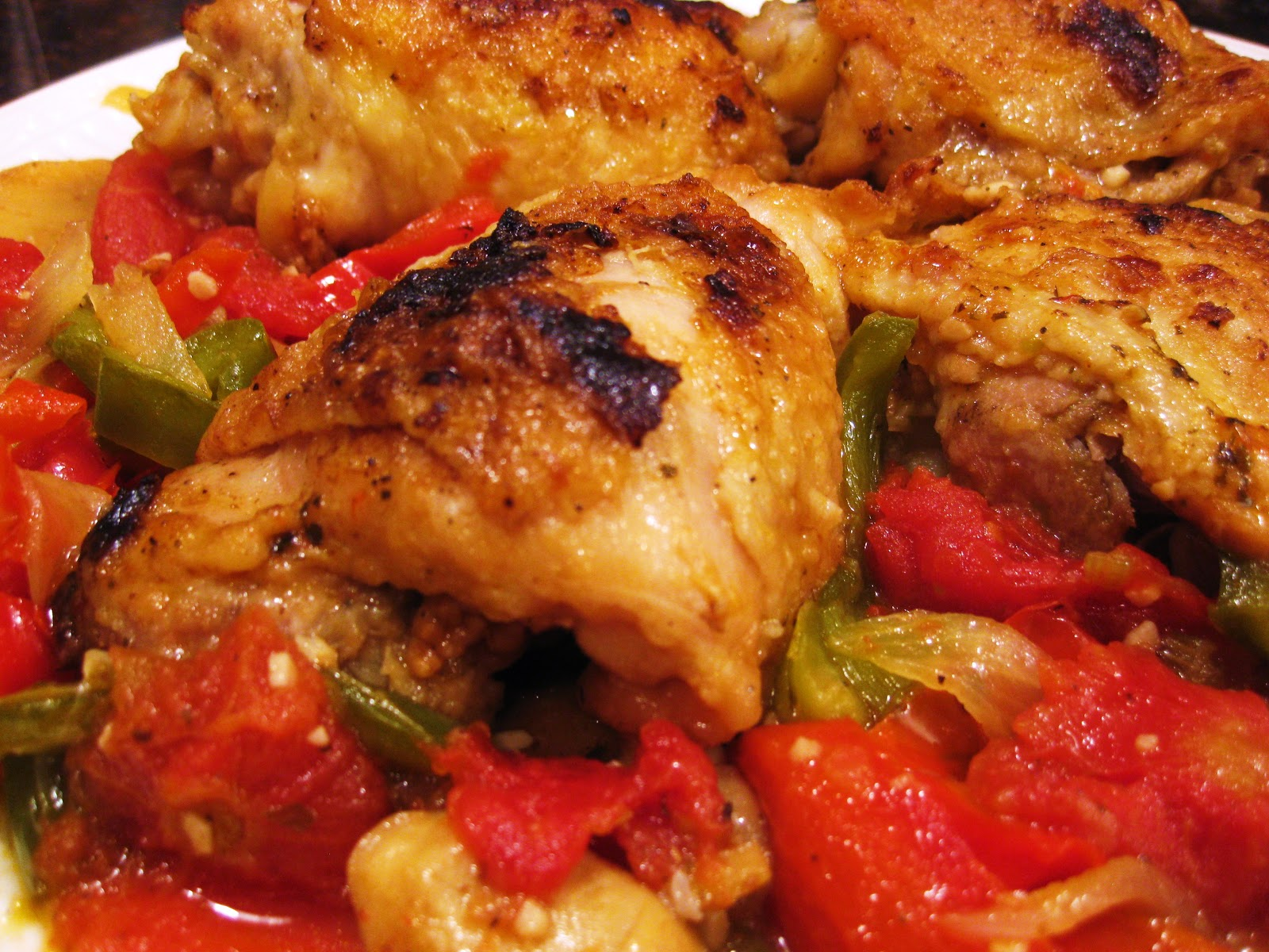 Christine's Kitchen Chronicles: Chicken Cacciatore