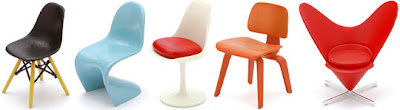 Mini Designer Chair Collection 1