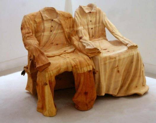 Italian artist Livio De Marchi Creative Arts with the Wood Seen On www.coolpicturegallery.us