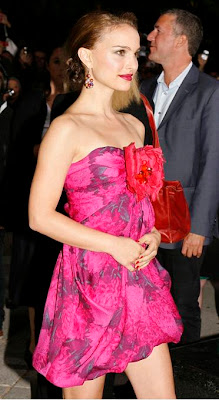 natalie portman vestidos de noche traje sexy